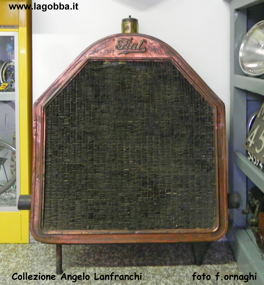 Radiatore di un autocarro Fiat 18BL del 1924