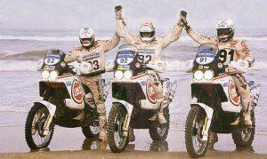 Parigi-Dakar del 1989, <orioli <<<<8xx) e Terruzzi (xx)