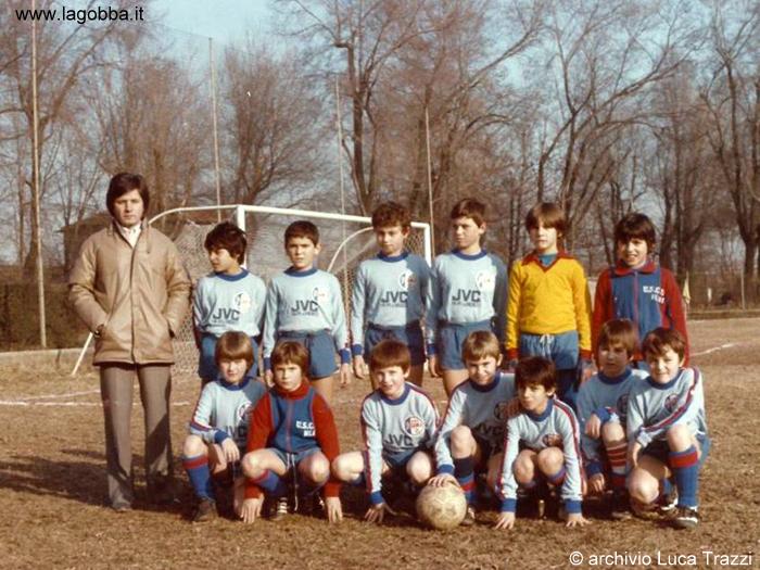 """Stagione 1981 – Suadra """"Primi Calci"""" dellURI"""