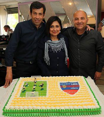 I tre promotori dell'iniziativa